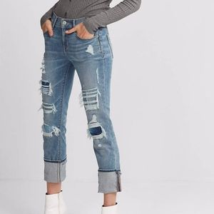 EUC Express Distressed Stretch+ Performance Jeans
